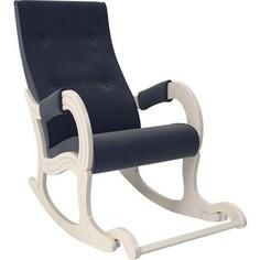 Кресло-качалка Мебель Импэкс Модель 707 дуб шампань, ткань Verona denim blue