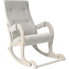 Кресло-качалка Мебель Импэкс Модель 707 дуб шампань, ткань Verona light grey