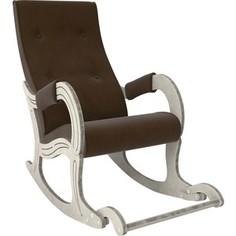Кресло-качалка Мебель Импэкс Модель 707 дуб шампань/патина,ткань Verona brown