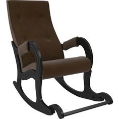 Кресло-качалка Мебель Импэкс Модель 707 венге, ткань Verona brown
