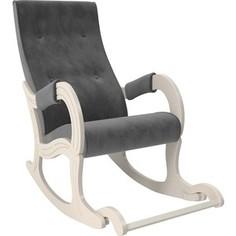 Кресло-качалка Мебель Импэкс Модель 707 дуб шампань, ткань Verona antrazite grey