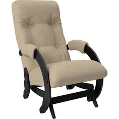 Кресло-качалка Мебель Импэкс Модель 68 венге/ Malta 03 А