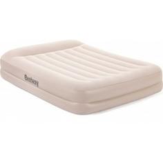 Надувная кровать Bestway 67696 Tritech Airbed 203х152х42 см с подголовником, встроенный электронасос,