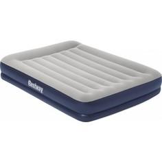 Надувная кровать Bestway 67725 Tritech Airbed 203х152х36 см с подголовником, встроенный электронасос,