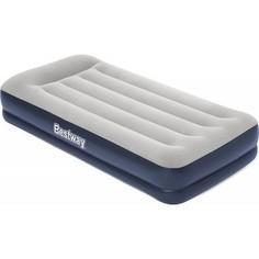Надувная кровать Bestway 67723 Tritech Airbed 191х97х36 см с подголовником, встроенный электронасос,