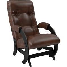 Кресло-качалка Мебель Импэкс Модель 68 венге/ antik crocodile