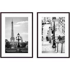Набор из 2-х постеров Дом Корлеоне Коллаж Париж №20 50х70 см 2 шт.