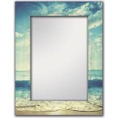 Настенное зеркало Дом Корлеоне Море 55x55 см