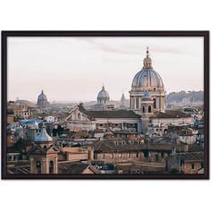 Постер в рамке Дом Корлеоне Рим 50x70 см