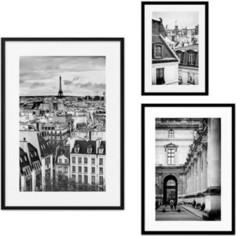Набор из 3-х постеров Дом Корлеоне Коллаж Париж №30 30х40 см 1 шт., 40х60 см 1 шт., 50х70 см 1шт.