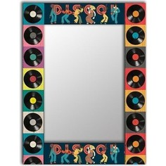 Настенное зеркало Дом Корлеоне Диско 50x65 см