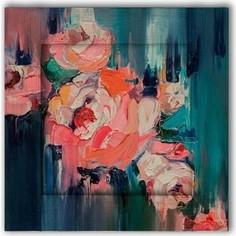 Картина с арт рамой Дом Корлеоне Розы 45x45 см