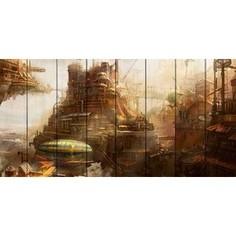 Картина на дереве Дом Корлеоне Империя Авалон 100x200 см