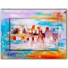 Картина с арт рамой Дом Корлеоне Прага 35x45 см