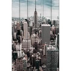 Картина на дереве Дом Корлеоне Нью Йорк 120x180 см