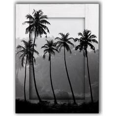 Картина с арт рамой Дом Корлеоне Пальмы 80x100 см