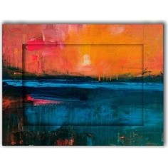 Картина с арт рамой Дом Корлеоне Рассвет 80x100 см
