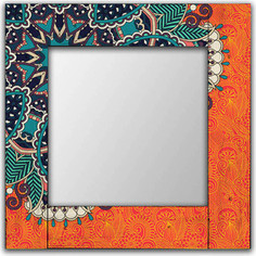Настенное зеркало Дом Корлеоне Крозе 90x90 см