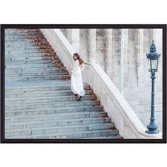 Постер в рамке Дом Корлеоне Лестница 40x60 см