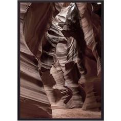 Постер в рамке Дом Корлеоне Песчаные скалы 30x40 см