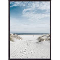 Постер в рамке Дом Корлеоне Песчаный пляж 30x40 см