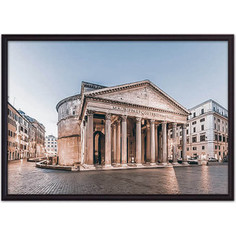 Постер в рамке Дом Корлеоне Пантеон Рим 30x40 см