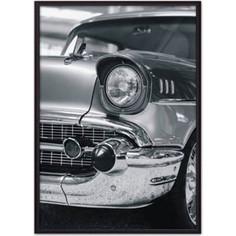 Постер в рамке Дом Корлеоне Ретро авто 21x30 см