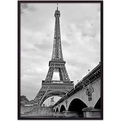 Постер в рамке Дом Корлеоне Мост и Эйфелева башня 50x70 см