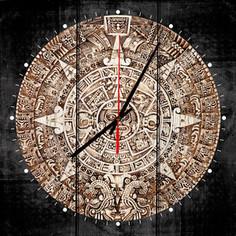 Настенные часы Дом Корлеоне Календаль Майя 40x40 см