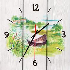 Настенные часы Дом Корлеоне Лодочка 30x30 см
