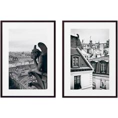 Набор из 2-х постеров Дом Корлеоне Коллаж Париж №7 40х60 см 2 шт.