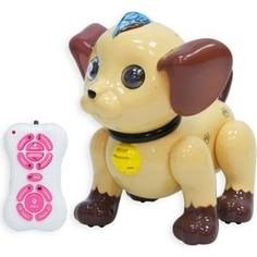 Радиоуправляемый робот Zhorya Собачка Умный Я (коричневый) - ZYA-2069
