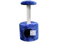 Когтеточка Pet Choice 26x26x50cm Dark-Blue SBE307-2