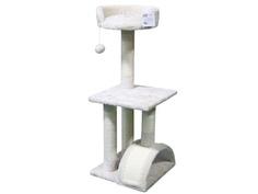 Когтеточка Pet Choice 36x36x85cm SBE892-Cream