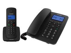 Радиотелефон Alcatel M350 Combo Black