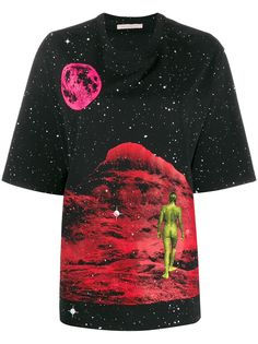 Christopher Kane футболка Mountain Lady с принтом