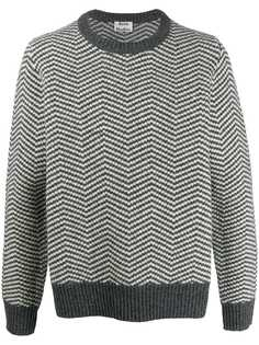 Acne Studios свитер вязки интарсия