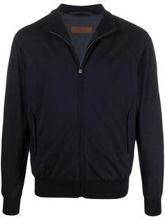 Corneliani трикотажная куртка на молнии