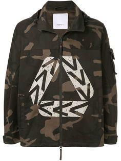 Ports V камуфляжная куртка с капюшоном