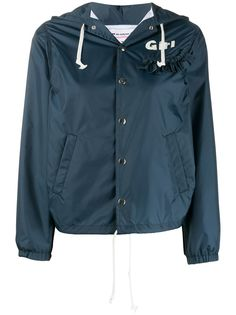 Comme Des Garçons Girl куртка с капюшоном и оборками