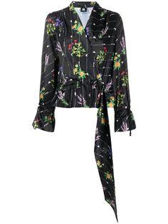 Kappa Kontroll блузка с цветочным принтом с логотипом