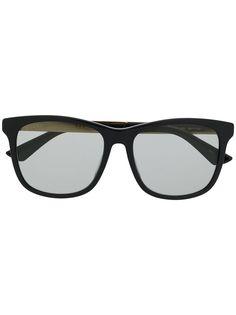 Gucci Eyewear солнцезащитные очки GG0695SA в прямоугольной оправе