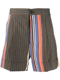 Vivienne Westwood шорты Crazy Stripes George