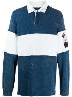 Paul & Shark рубашка-поло в широкую полоску Paul&Shark
