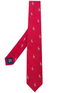 Ralph Lauren Kids галстук с логотипом