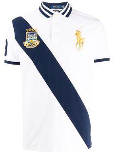 Polo Ralph Lauren рубашка-поло с диагональной полоской