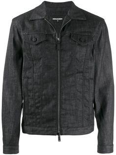 Dsquared2 джинсовая куртка на молнии