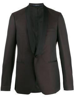 Tagliatore пиджак-смокинг лацканами-шалькой