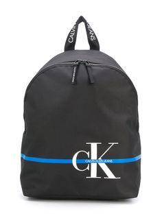 Calvin Klein Kids рюкзак с логотипом и контрастной полоской