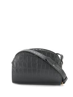 A.P.C. сумка Demi с тиснением под кожу крокодила
